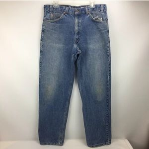 Levis Men's Tab 550 Denim Relaxed Fit Size W38 L32